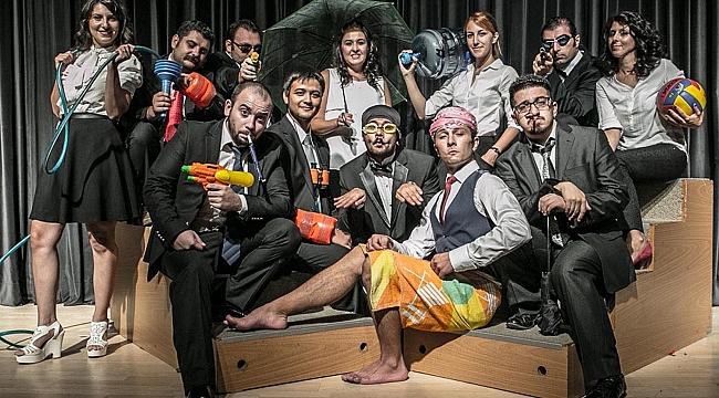 Doğaçlama tiyatronun ustaları İzmir'de buluşuyor