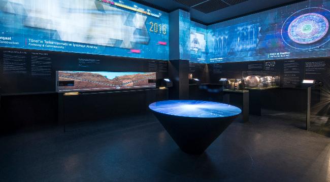Son teknoloji sergi tasarımı: Avrasya Tüneli Müzesi
