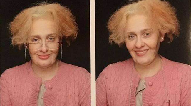 Adele'den eğlenceli 30. yaş pozu