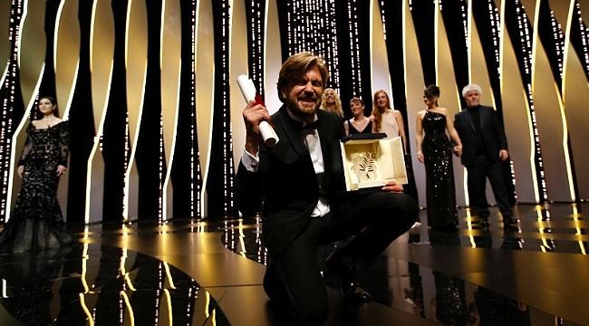 Cannes'ta Altın Palmiye The Square filminin oldu