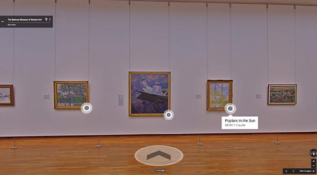 Kültür-sanatın Google hali