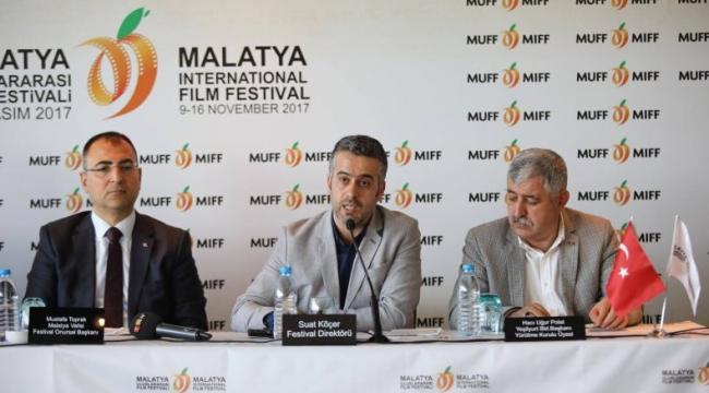 Malatya Film Festivali'nde bu yıl yenilik ve sürprizler  var