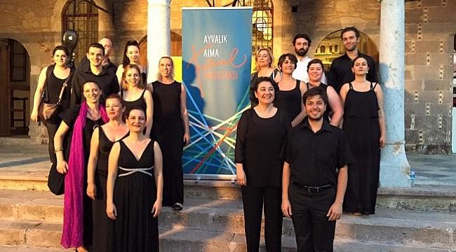 Ayvalık için festival vakti: Ayvalık AIMA Müzik Festivali