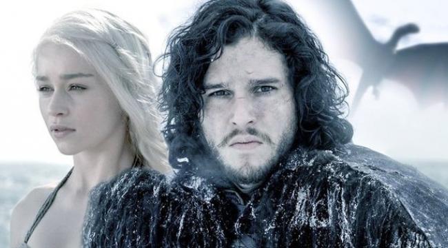 Jon Snow'un ejderha taklidi sosyal medyayı salladı