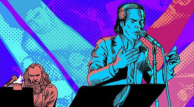 Nick Cave'in 'Skeleton Tree' albümü çizgi hikâye oldu