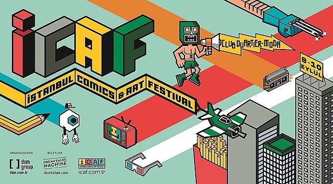 Çizgi roman ve görsel tasarıma dair herşey İstanbul Comics & Art Festival'de