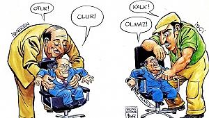 Ünlü siyasetçilerin karikatürleri bu sergide