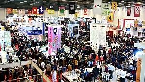 Uluslararası İstanbul Kitap Fuarı'na rekor katılım