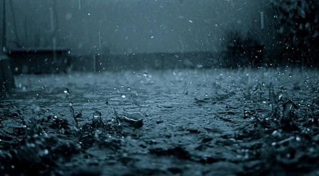 O gece yağmur hiç dinmedi