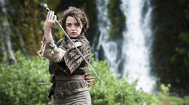 Arya Stark, Game of Thrones'un başlayacağı tarihi açıkladı