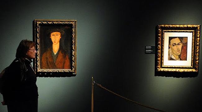 Modigliani sergisindeki 21 tablodan 20'si sahte çıktı