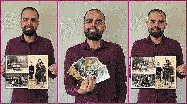 Uğur Topal: İlk hedefim elimdeki fotoğrafların sahiplerini bulmak
