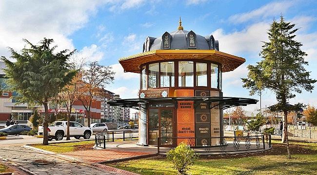 Aksaray'a portatif kütüphane