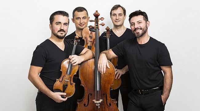 'Irmak Konserleri'nin bu ayki konuğu Borusan Quartet