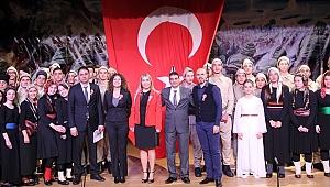 Yeşilköy 50. Yıl Anadolu Lisesi Çanakkale Zaferi'ni kutladı
