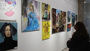 Güzel sanatlar lisesiöğrencilerinden karma sergi