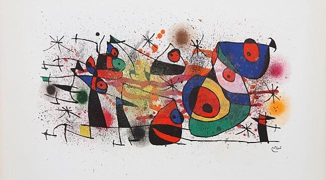 Joan Miró eserleri yeniden İstanbul'da sergilenecek