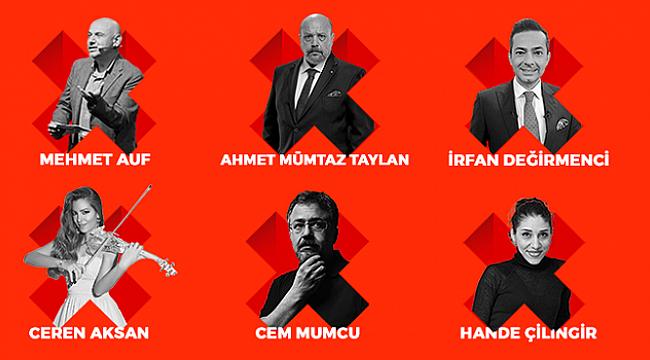 TEDxAlsancak, 10 ünlü ismi İzmirlilerle buluşturacak