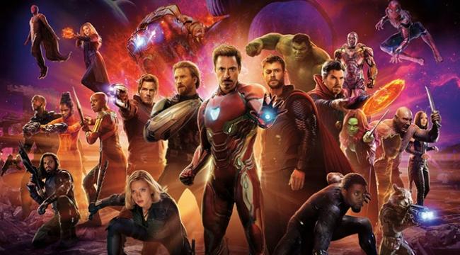 Avengers: Infinity War'dan yeni rekor