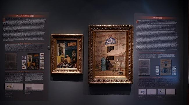 Osman Hamdi Bey tablolarına farklı bir bakış: Görünenin Ötesinde Osman Hamdi Bey