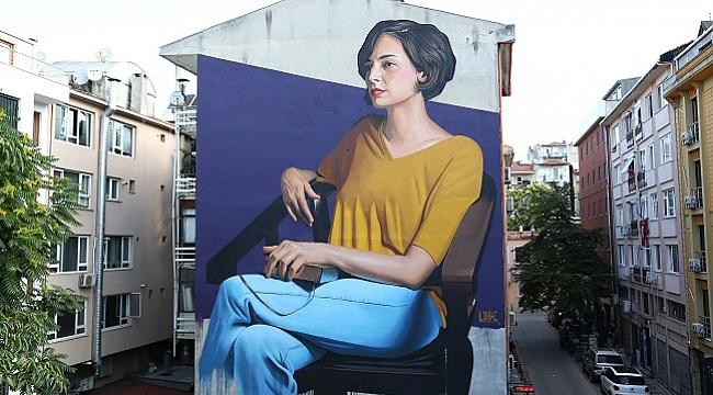 Kadıköy'ün sokakları Mural Festivali ile renklendi