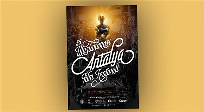 55. Uluslararası Antalya Film Festivali'nin afişi yayınlandı