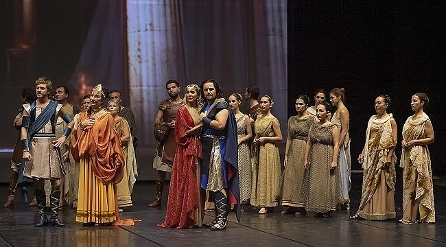 """Birçok ilke imza atacak görkemli, destansı """"Troya"""" operası"""