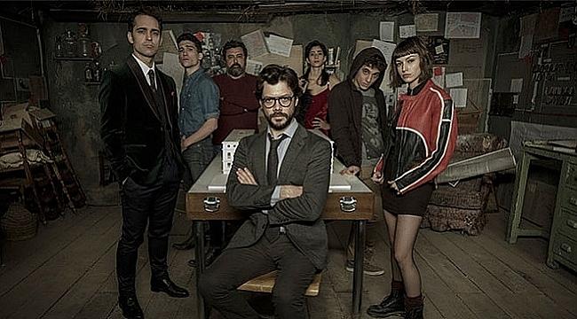 La Casa de Papel, 2018'in en iyi drama dizisi seçildi
