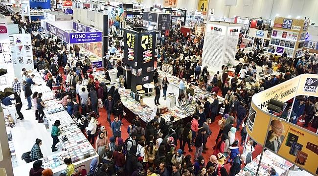 Uluslararası İstanbul Kitap Fuarı 600 bin kitapseveri ağırladı