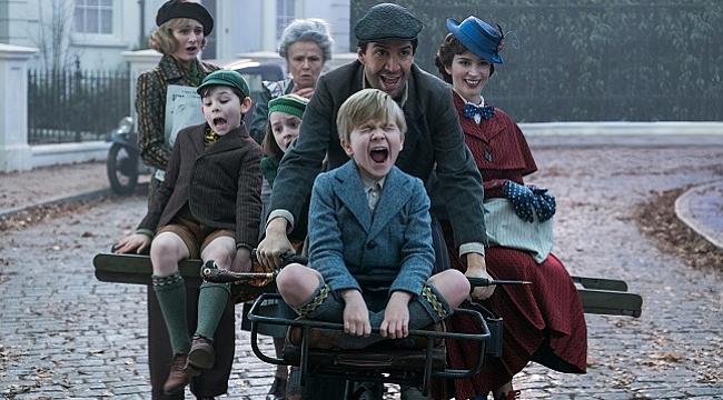 """Mary Poppins Sihirli Dadı"" dört dalda Altın Küre adayı oldu"