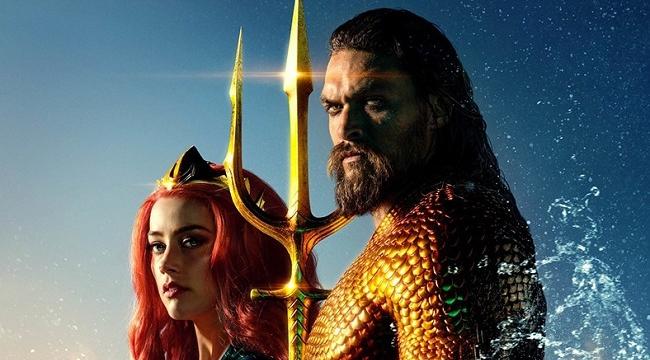 Aquaman sinema tarihine geçti