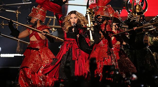 Eurovision'da Madonna rüzgarı