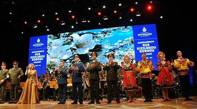 Kızılordu Korosu iki konserle İstanbullularla buluşacak