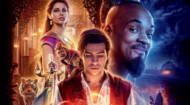 Aladdin filminden yeni afiş yayınlandı