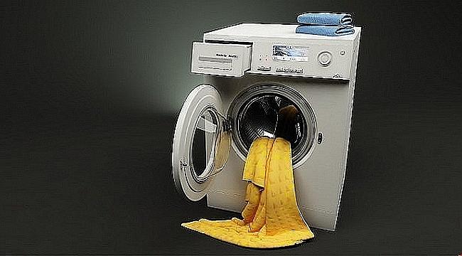 Program sonunda suyu boşaltmayan çamaşır makinesine ne yapılır?