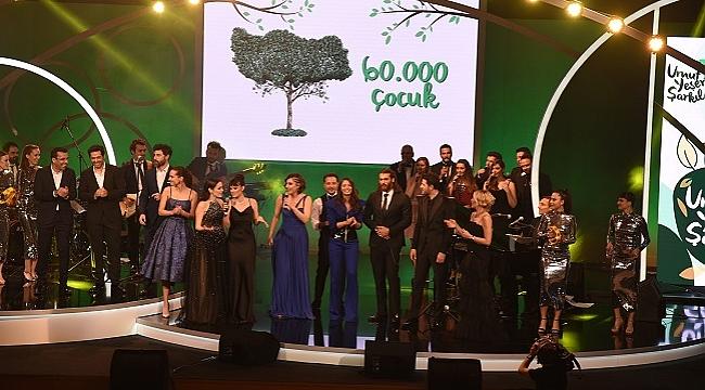 Sanatçılar Sezen Aksu şarkılarını çocuklar ve doğa için söyledi