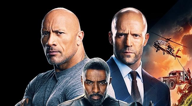 Hızlı ve Öfkeli: Hobbs ve Shaw filminden afiş yayınlandı