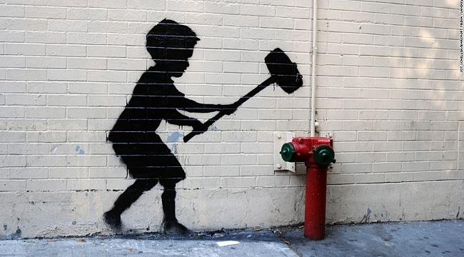 Banksy'nin kayıp röportajı ortaya çıktı