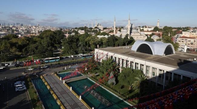 İBB'nin Saraçhane binasının bir bölümü kütüphane olacak