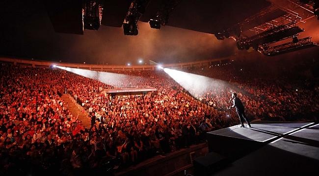 Tarkan'ı Açıkhava'da 50 bin kişi izledi