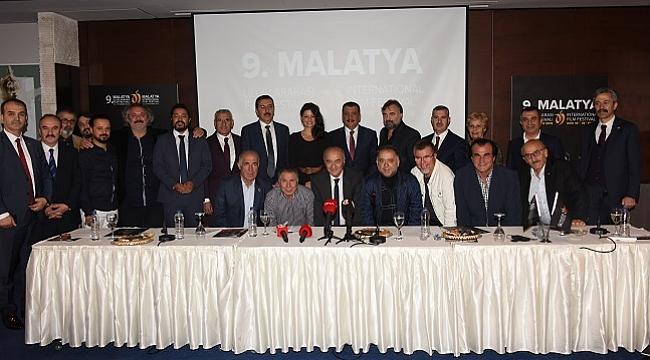 9. Uluslararası Malatya Film Festivali tanıtıldı