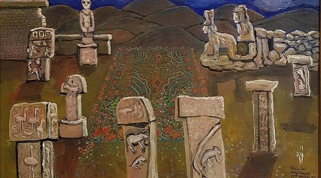 Sedef Yavuzalp'ın eserleri Göbeklitepe Kültürel Miras ve Turizm Fuarı'nda sergilenecek
