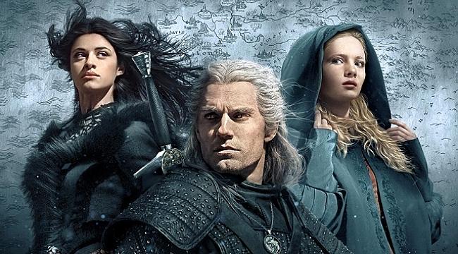 The Witcher'ın resmi afişini paylaşıldı