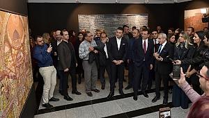 Devrim Erbil'in 60. sanat yılı sergisi Beşiktaş Çağdaş Sanat Galerisi'nde açıldı