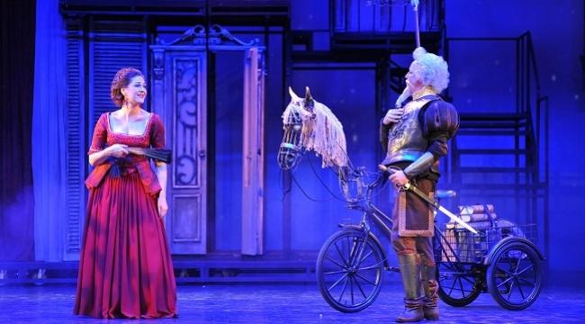 Don Quichotte operası bu sezon da sahnede