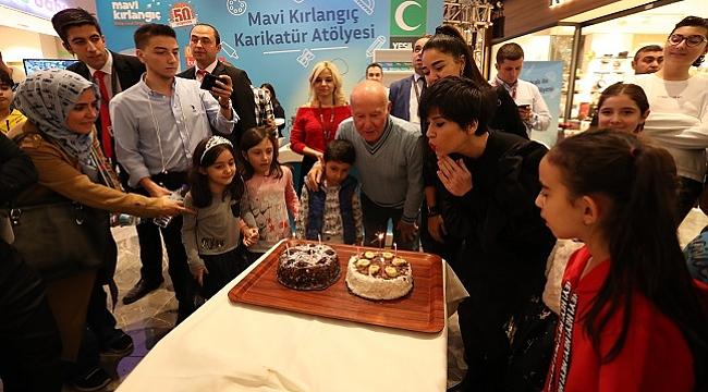 Yeşilay'ın çocuk dergisi Mavi Kırlangıç, 50'inci yaşını kutladı