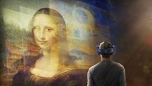 Mona Lisa'yı sanal gerçeklik teknolojisiyle yakından görme fırsatı