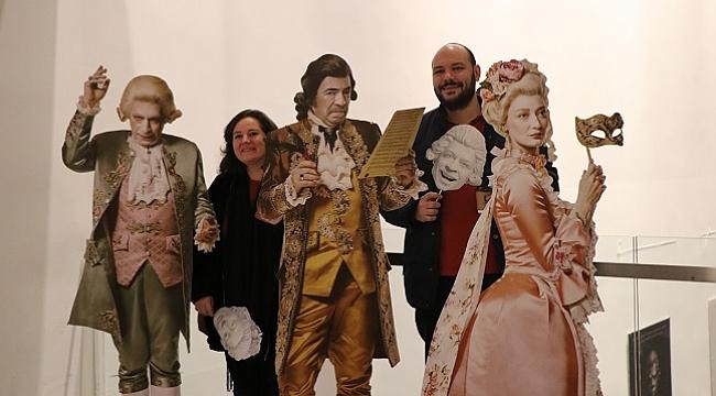 """Mozart,264. yaşında """"Amadeus"""" oyununda anıldı"""