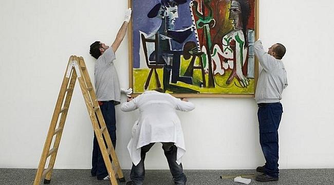 Picasso'nun tablosu bir genç tarafından kasten yırtıldı