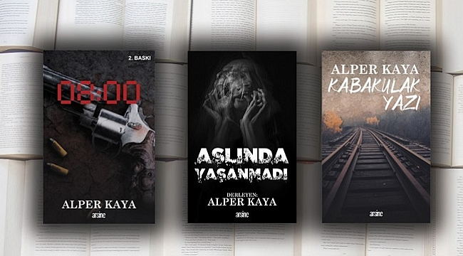 Alper Kaya'dan üç kitap birden